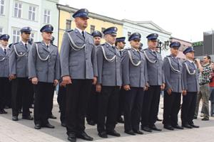 Młodzi policyjni emeryci rozpoczynają nowe życie. Zawodowe życie.